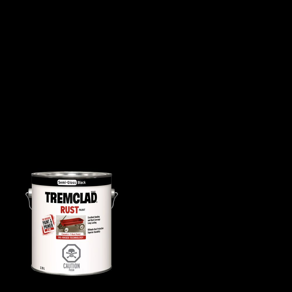 Tremclad tremclad rust paint sand 946ml the home depot canada rust paint semi gloss black 378l nvjuhfo Image collections