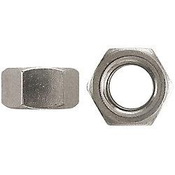 Paulin 4-40 Steel Hex Machine Screw Nut - Zinc Plated