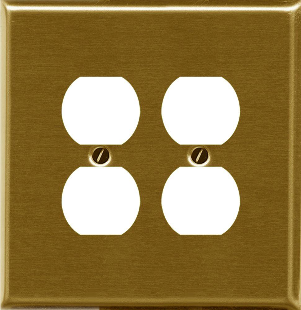 Trad. Brass Double Duplex