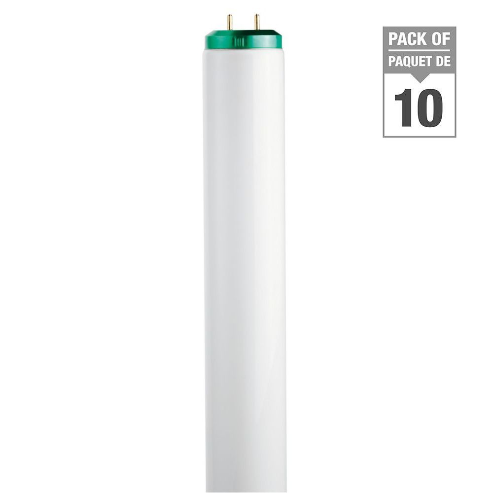 """Fluorescent 40W T12 48"""" Cool White (4100K) - 10 Pack"""