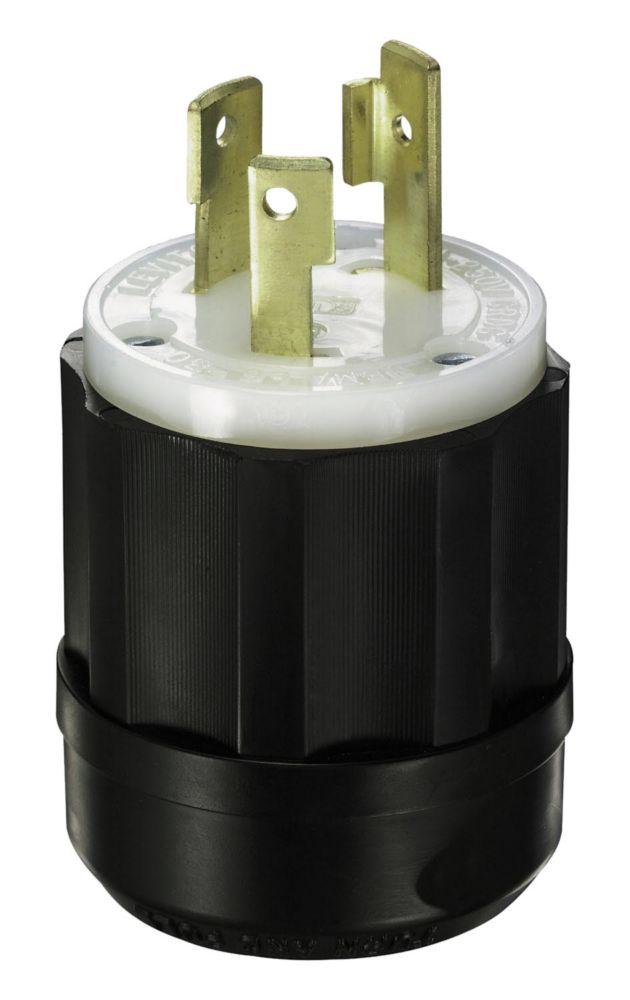 Leviton 15 Amp Locking Plug - 125Vc 2 Pole 3 Wire