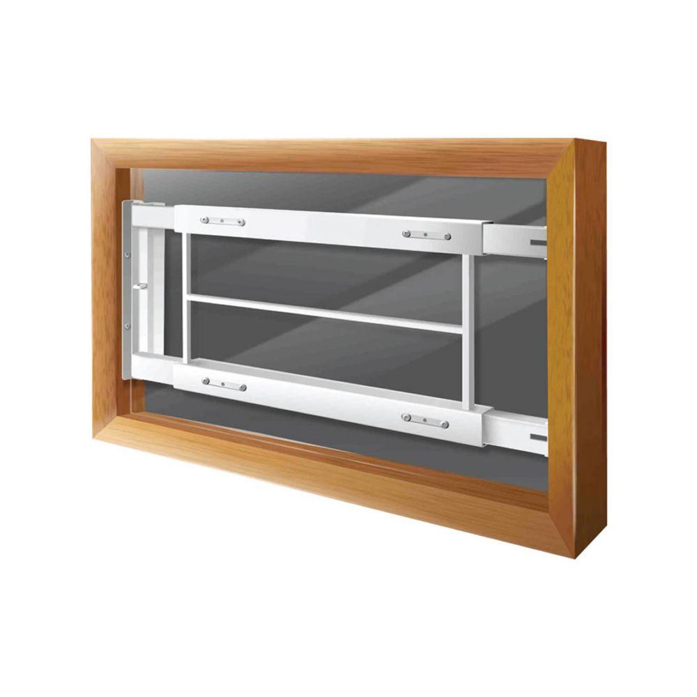 202 C 21-inch to 28-inch W Hinged Window Bar