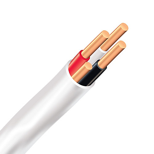 Southwire Romex SIMpull NMD90 Copper Electrical Cable - 14/3 White ...