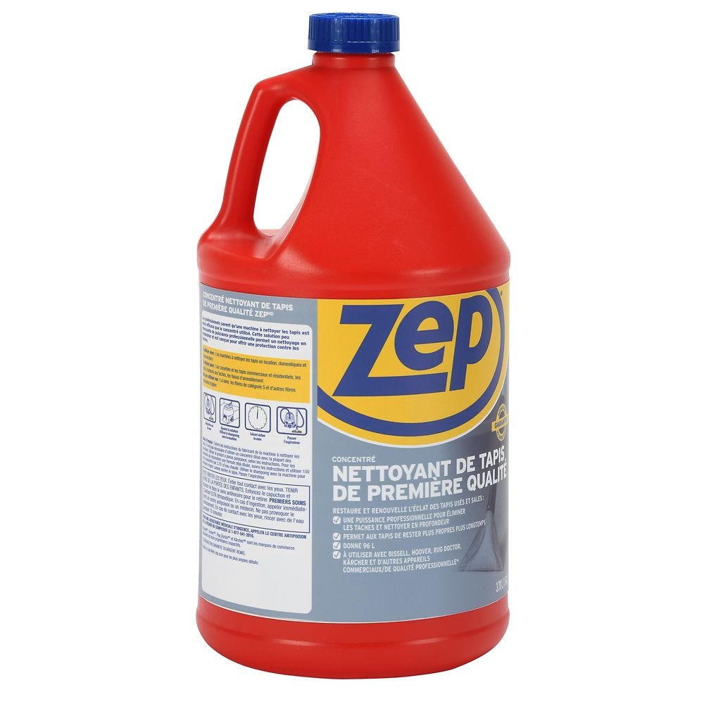 zep commercial premium carpet shampoo concentrate l the home depot canada. Black Bedroom Furniture Sets. Home Design Ideas