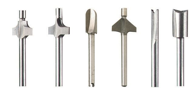 6-Piece Router Bit Set