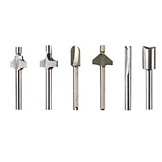 Six-Piece Router Bit Set