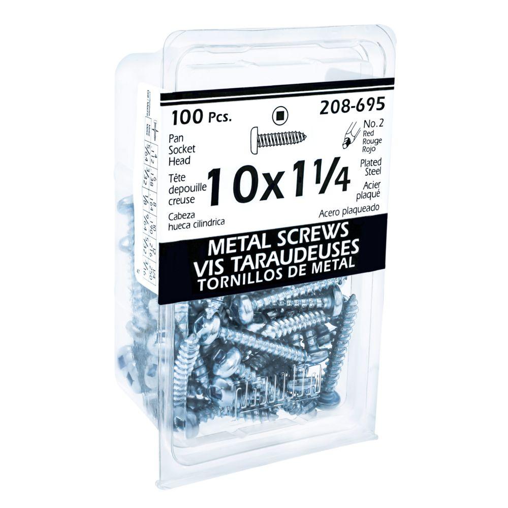 10x1-1/4 Pan Hd Socket Tapping Screw