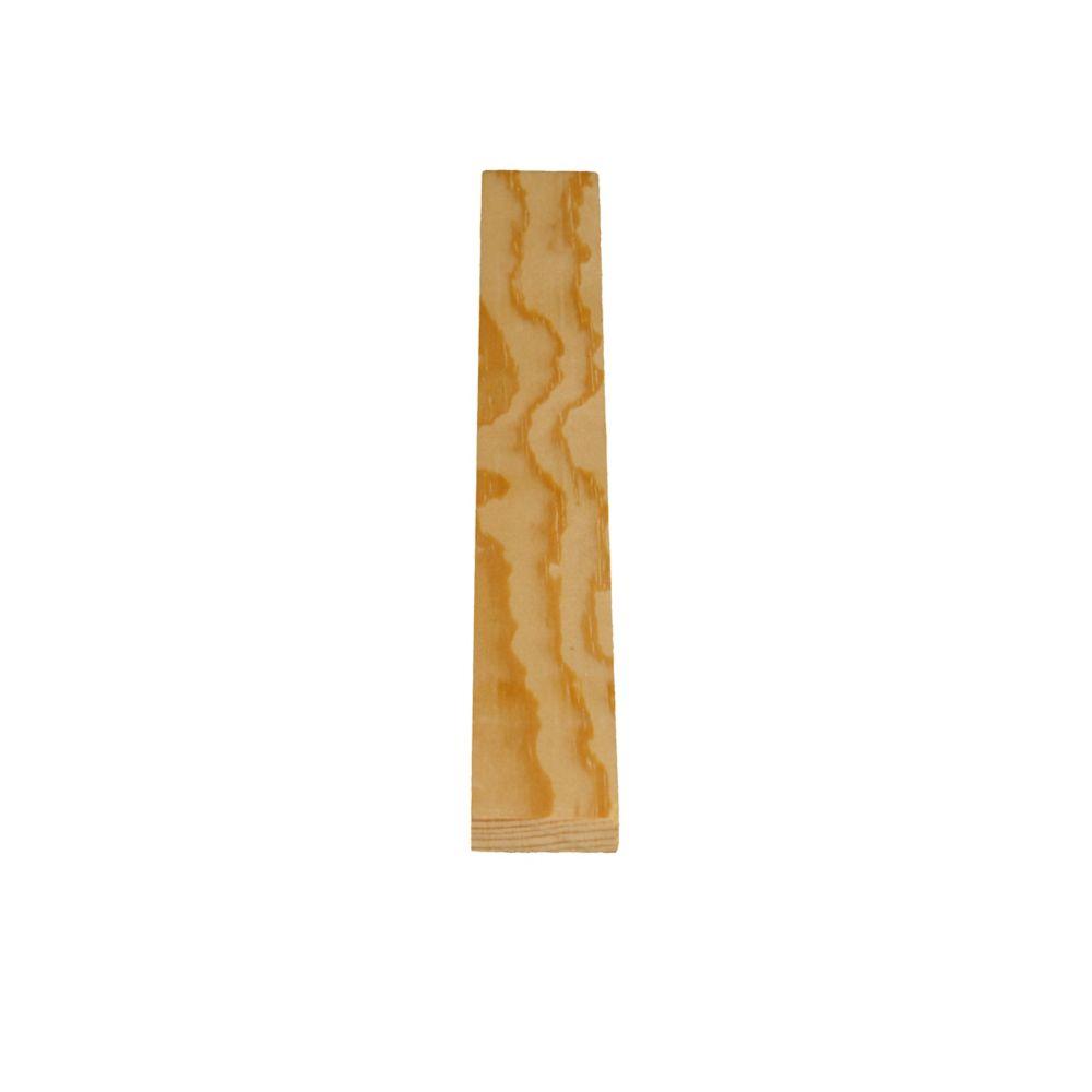 Treillis en pin clair massif - 5/16 x 1 1/16