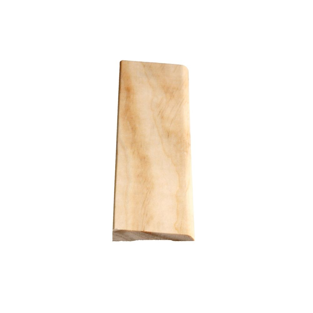 Solid Clear Pine Bevel Casing 3/8 In. x 2-1/8 In. x 7 Ft.