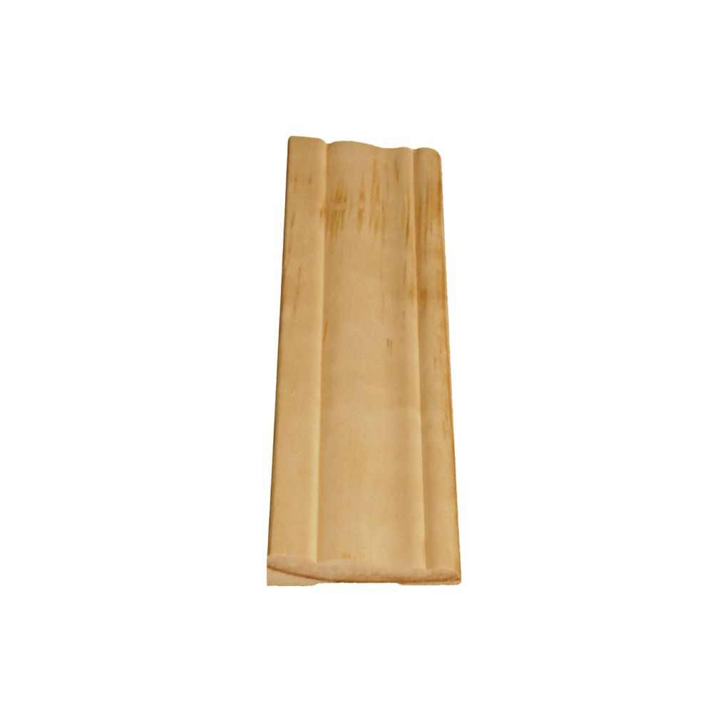 Solid Clear Pine Colonial Casing 7/16 In. x 2-1/8 In. x 7 Ft.