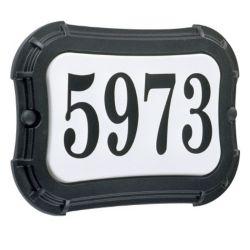Snoc Vintage Series, Black Finish, Horizontal or Vertical Address Plate