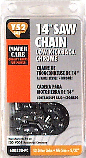 8 In. Replacement Chain for Craftsman and Jonserd Chain Saws.
