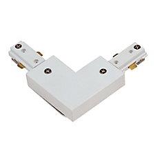 Connecteur à angle de 90° uniiversel, fini blanc