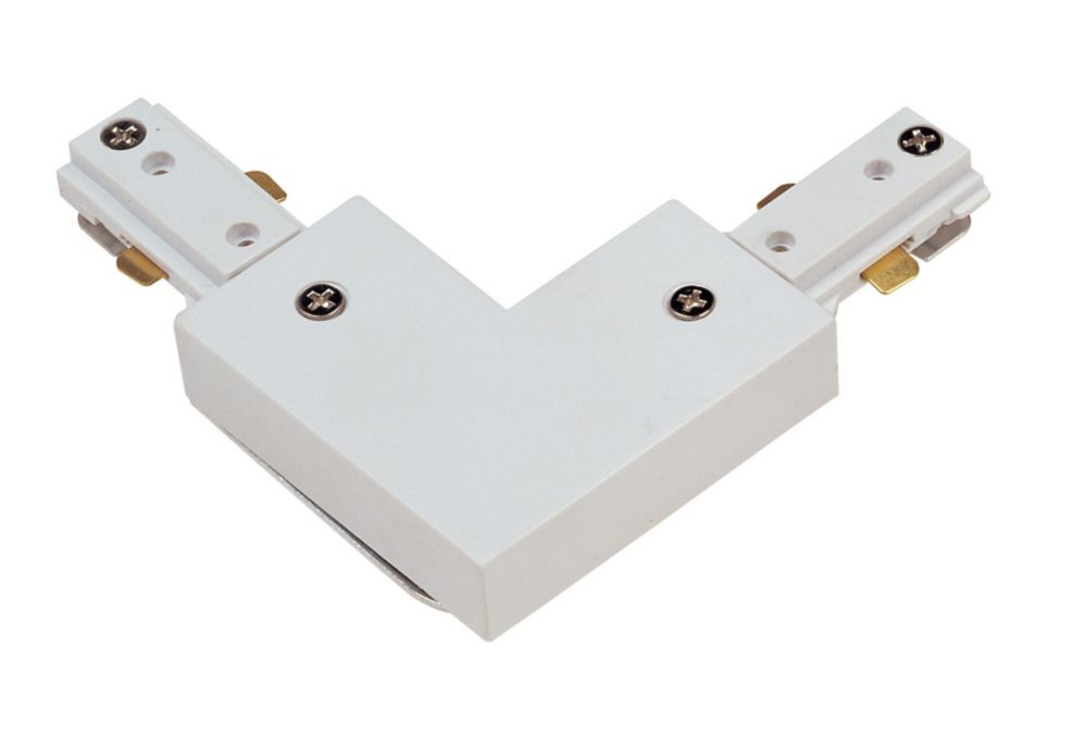 Universal 90 Degree Connector, White Finish