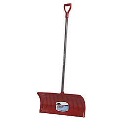 Nordic Garant 26-inch Snow Pusher with Wood Handle and Poly Blade