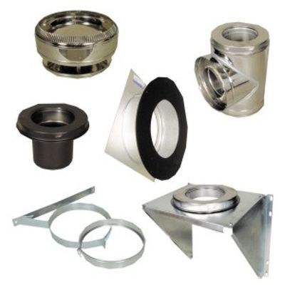 SuperVent 6 in. Wall Support Kit