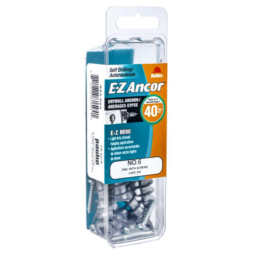 Fixations E-Z Ancor<sup>®</sup> #6 avec vis