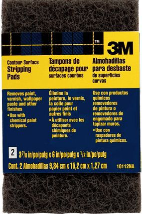Tampon De Décapage Surface Courbe