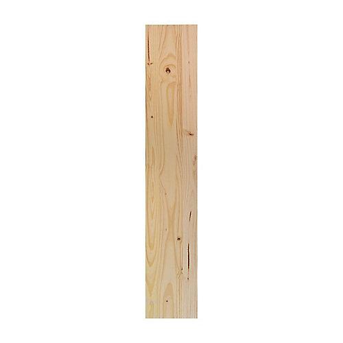 12 x 72 inch Laminated Whitewood Panel