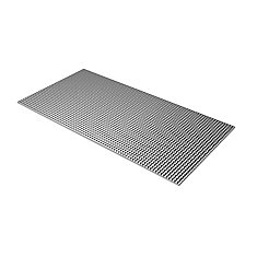 Egg Crate Silver Louver - 23.75 Inch x 47.75 Inch
