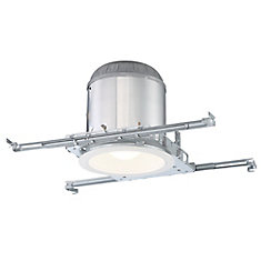 6 inch Contractor Pack, (6) 6 inch I/C New Construction with (6) 6 inch White Baffle, 75W, R30