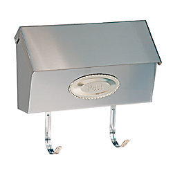 DMP Swedish Mailbox - Satin Nickel