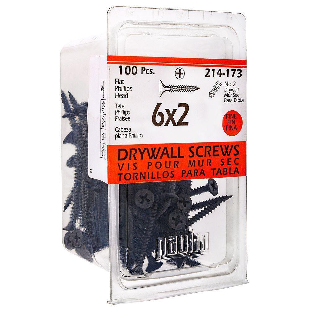 6x2 Drywall Scfine Phill 100Pc