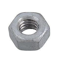 Paulin 1/4-inch-20 Finished Hex Nut-Grade 2-Oversized - Hot Dipped Galvanized - UNC
