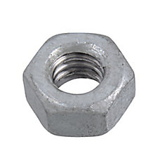 1/4-20 Fin Hex Nuts HDG