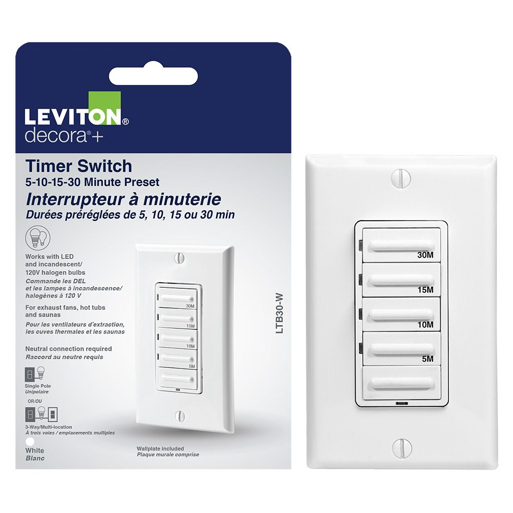 Lutron Diva Single Pole 3 Way Cfl Led Dimmer In White The Home Three Switch Depot Canada