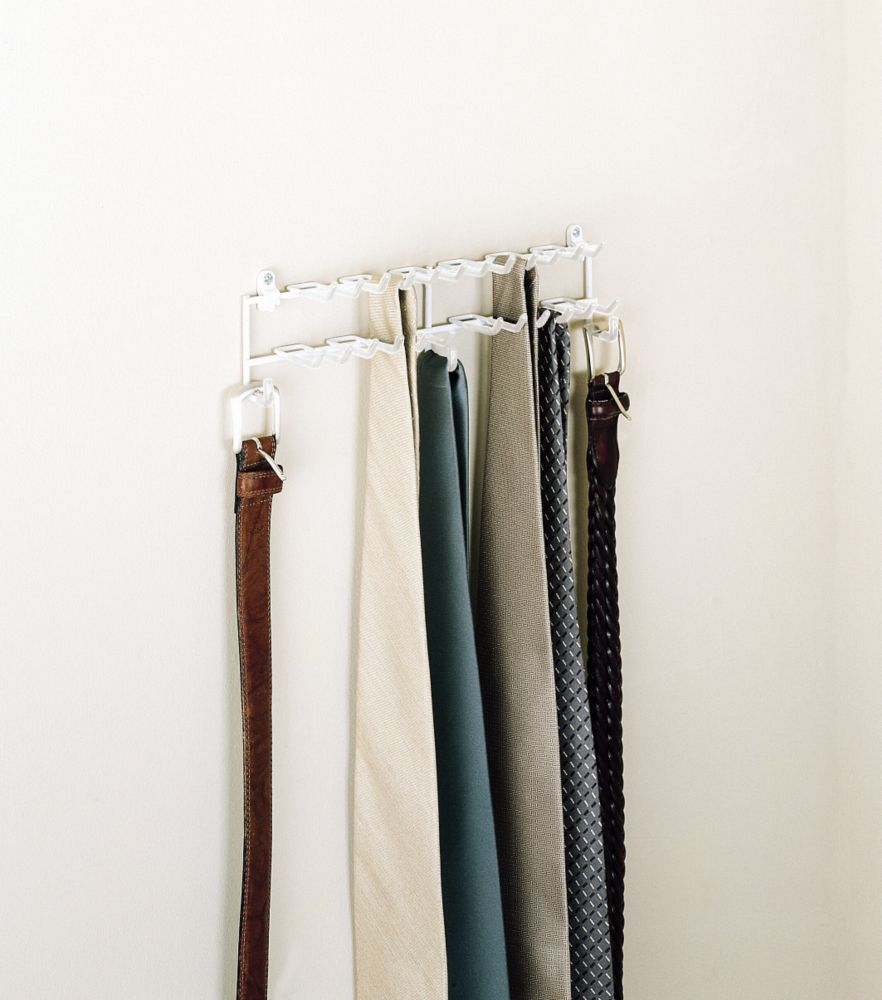Door/Wall Tie & Belt Organizer