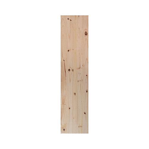 16 x 72 inch Laminated Whitewood Panel