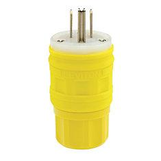 15 Amp Wet Guard Plug Nema 5-15p