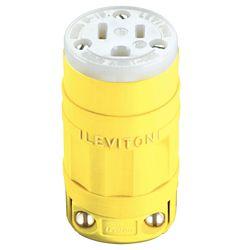 Leviton 15 Amp Dustguard Connector Nema 5-15r
