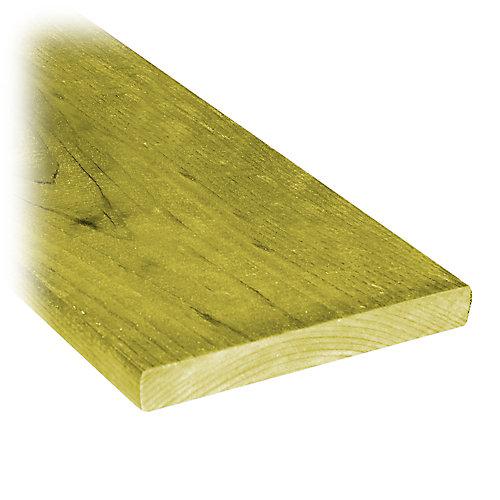 1 inch x 6 inch x 8 ft.Treated Wood Fence Board