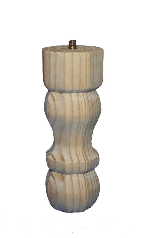 Pine Traditional Leg 2-1/8 In. x 2-1/8 In. x 6 In.