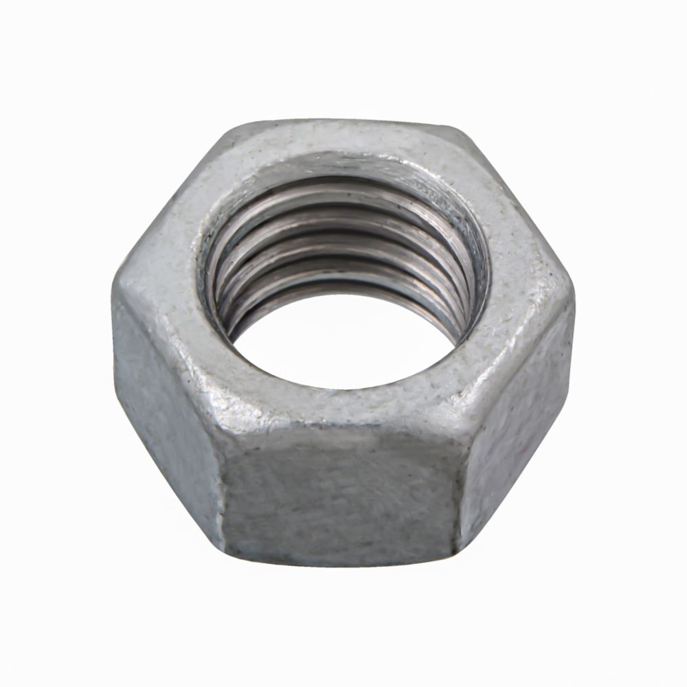 1/2-13 Fin Hex Nut HDG - 25 Pieces