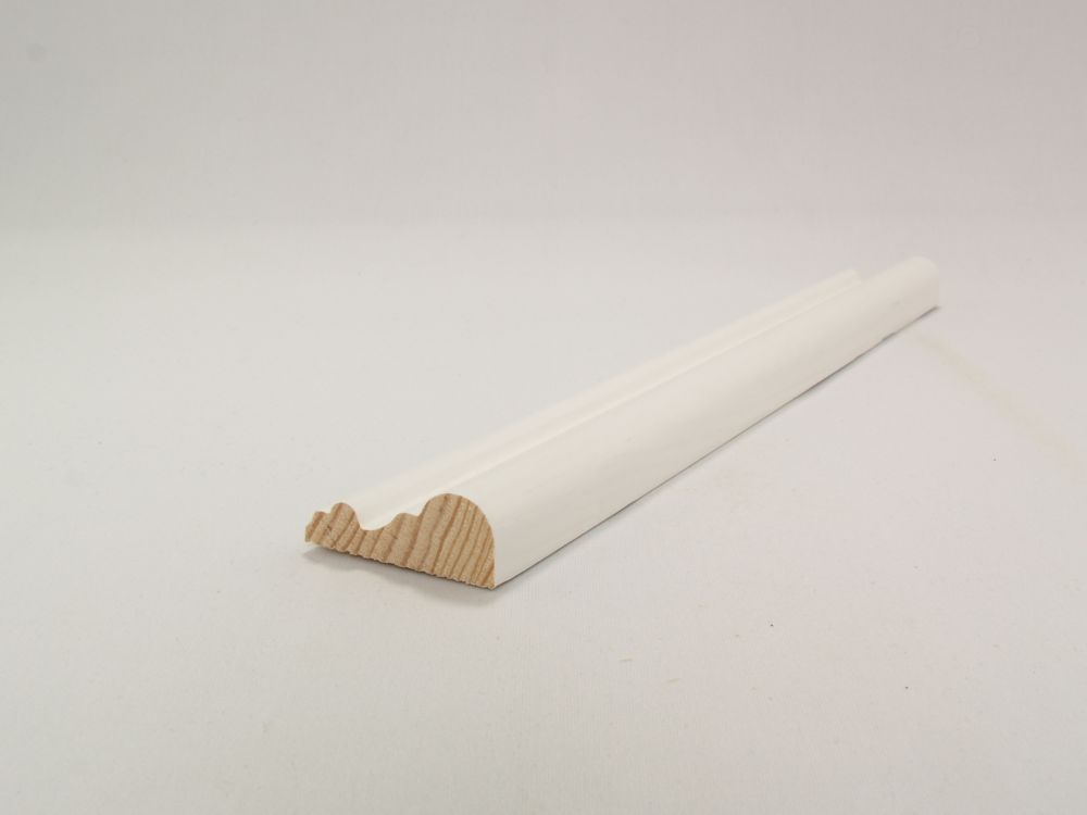 Primed Finger Jointed Pine Chair Rail 11/16 In. x 1-3/4 In. x 8 Ft.