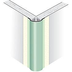 Paper-Faced Metal Outside Corner Bead, Bullnose 1/2 In. radius, 8 Ft.