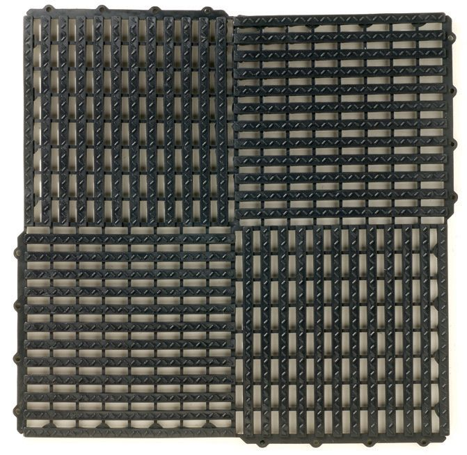 Multy Tile  Noir 10PKG