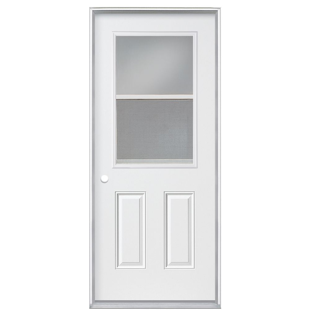 Veranda 34-inch x 4 9/16-inch Primary 1/2-Lite Vented Right Hand Door - ENERGY STAR®
