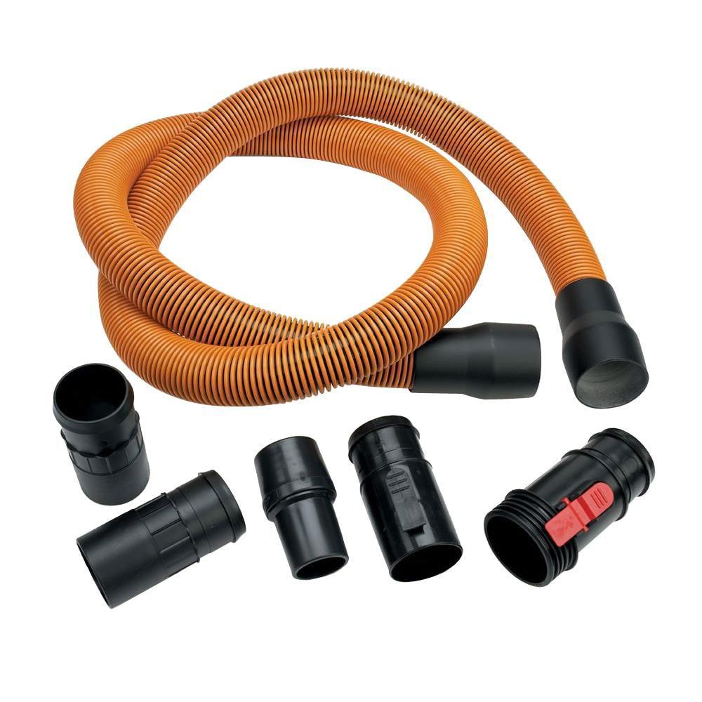 Tuyau flexible Pro-Grade pour aspirateurs secs/humides de 1-7/8 po x 10 pi (3 m)
