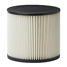 Filter For Shop-Vac, MAXIMUM & Mastervac Wet Dry Vacuums