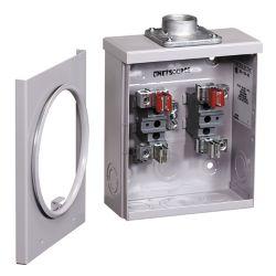 Microelectric 100A Overhead Meter Socket 1-1/4 Hub