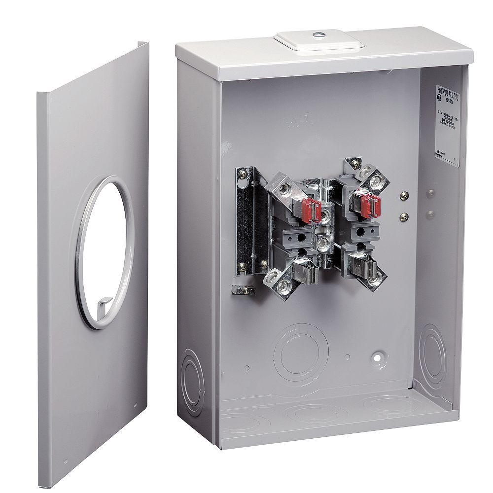 Microelectric Socle Compteur Combine 200a