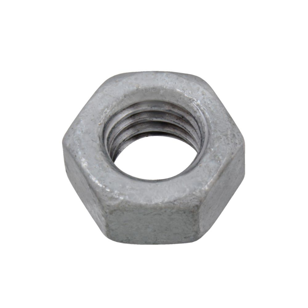 5/16-18 Fin Hex Nut HDG