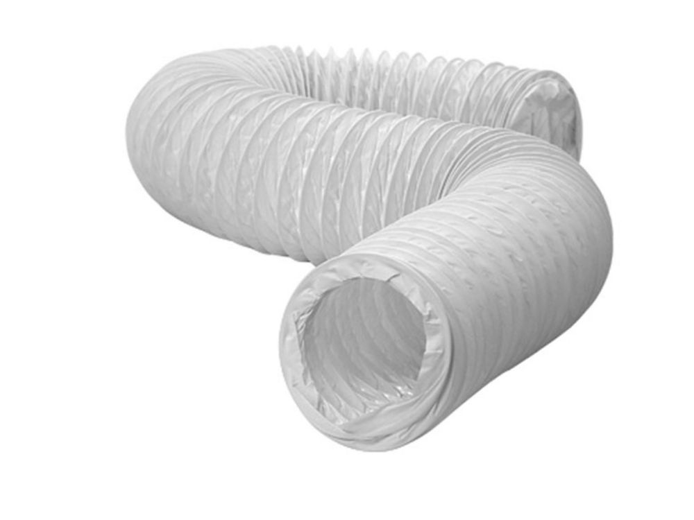 Flexible Vinyl Ducting 3 inch X 8 foot
