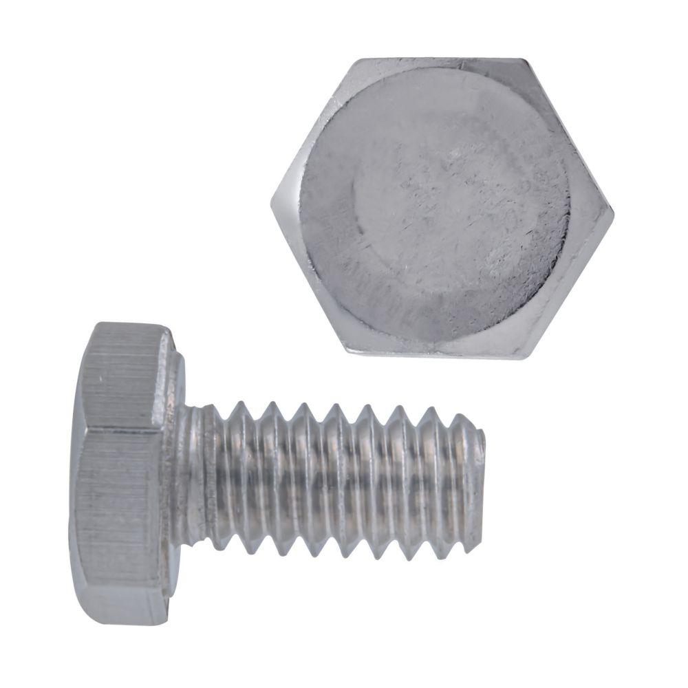 1/4x1/2 boulons de precision acier inox. 18-8