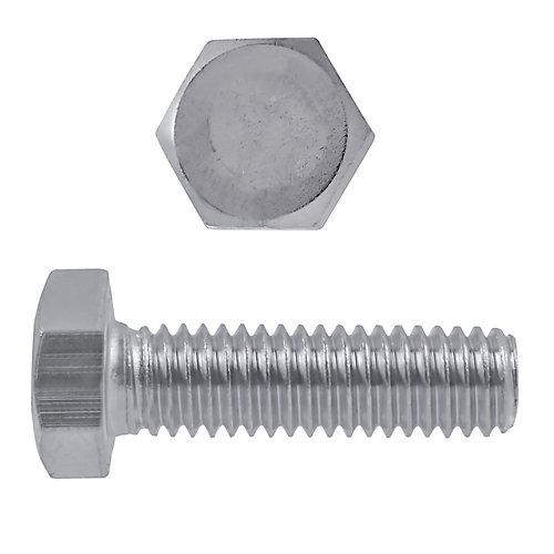 1/4-inch-20 x 1-inch 18.8 Stainless Steel Hex Head Cap Screw - UNC