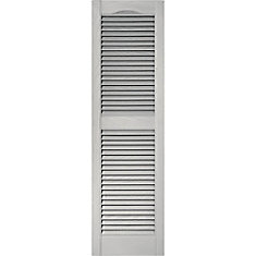 15 Inch X 39 Inch Paintable Louvered Shutter